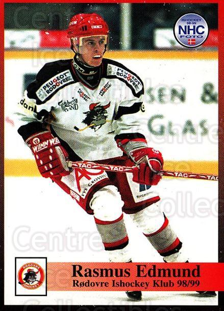 1998-99 Danish Hockey League #219 Rasmus Edmund<br/>1 In Stock - $3.00 each - <a href=https://centericecollectibles.foxycart.com/cart?name=1998-99%20Danish%20Hockey%20League%20%23219%20Rasmus%20Edmund...&quantity_max=1&price=$3.00&code=725316 class=foxycart> Buy it now! </a>