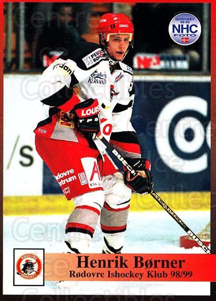1998-99 Danish Hockey League #223 Henrik Borner<br/>1 In Stock - $3.00 each - <a href=https://centericecollectibles.foxycart.com/cart?name=1998-99%20Danish%20Hockey%20League%20%23223%20Henrik%20Borner...&quantity_max=1&price=$3.00&code=725320 class=foxycart> Buy it now! </a>