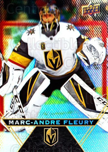 2018-19 Tim Hortons #10 Marc-Andre Fleury<br/>7 In Stock - $2.00 each - <a href=https://centericecollectibles.foxycart.com/cart?name=2018-19%20Tim%20Hortons%20%2310%20Marc-Andre%20Fleu...&quantity_max=7&price=$2.00&code=725346 class=foxycart> Buy it now! </a>