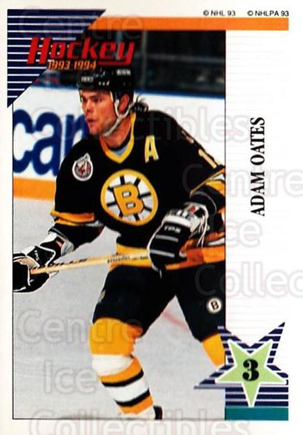 1993-94 Panini Stickers #138 Adam Oates<br/>6 In Stock - $1.00 each - <a href=https://centericecollectibles.foxycart.com/cart?name=1993-94%20Panini%20Stickers%20%23138%20Adam%20Oates...&quantity_max=6&price=$1.00&code=7256 class=foxycart> Buy it now! </a>