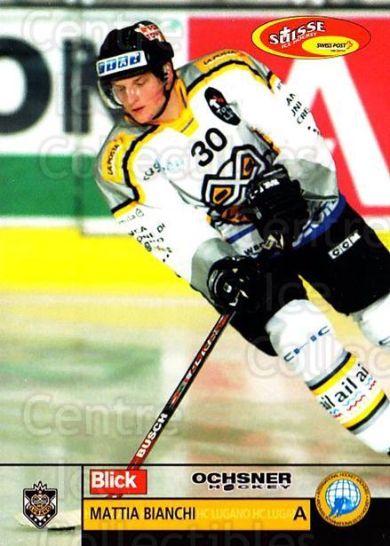 2003-04 Swiss Ice Hockey Cards #13 Mattia Bianchi<br/>2 In Stock - $2.00 each - <a href=https://centericecollectibles.foxycart.com/cart?name=2003-04%20Swiss%20Ice%20Hockey%20Cards%20%2313%20Mattia%20Bianchi...&quantity_max=2&price=$2.00&code=725721 class=foxycart> Buy it now! </a>