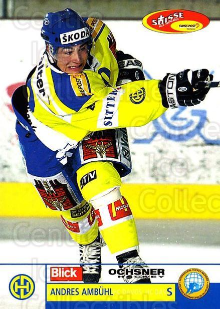 2003-04 Swiss Ice Hockey Cards #39 Andres Ambuhl<br/>2 In Stock - $2.00 each - <a href=https://centericecollectibles.foxycart.com/cart?name=2003-04%20Swiss%20Ice%20Hockey%20Cards%20%2339%20Andres%20Ambuhl...&quantity_max=2&price=$2.00&code=725747 class=foxycart> Buy it now! </a>