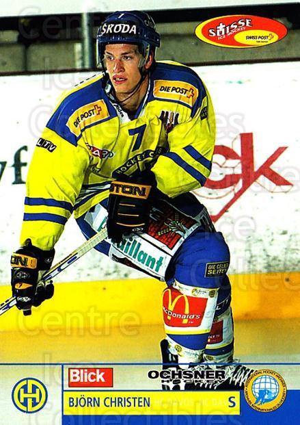 2003-04 Swiss Ice Hockey Cards #40 Bjorn Christen<br/>2 In Stock - $2.00 each - <a href=https://centericecollectibles.foxycart.com/cart?name=2003-04%20Swiss%20Ice%20Hockey%20Cards%20%2340%20Bjorn%20Christen...&quantity_max=2&price=$2.00&code=725748 class=foxycart> Buy it now! </a>