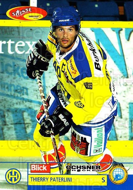 2003-04 Swiss Ice Hockey Cards #46 Thierry Paterlini<br/>2 In Stock - $2.00 each - <a href=https://centericecollectibles.foxycart.com/cart?name=2003-04%20Swiss%20Ice%20Hockey%20Cards%20%2346%20Thierry%20Paterli...&quantity_max=2&price=$2.00&code=725754 class=foxycart> Buy it now! </a>