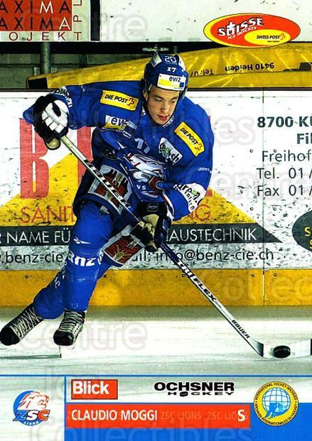2003-04 Swiss Ice Hockey Cards #68 Claudio Moggi<br/>1 In Stock - $2.00 each - <a href=https://centericecollectibles.foxycart.com/cart?name=2003-04%20Swiss%20Ice%20Hockey%20Cards%20%2368%20Claudio%20Moggi...&quantity_max=1&price=$2.00&code=725776 class=foxycart> Buy it now! </a>
