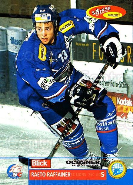 2003-04 Swiss Ice Hockey Cards #71 Raeto Raffainer<br/>2 In Stock - $2.00 each - <a href=https://centericecollectibles.foxycart.com/cart?name=2003-04%20Swiss%20Ice%20Hockey%20Cards%20%2371%20Raeto%20Raffainer...&quantity_max=2&price=$2.00&code=725779 class=foxycart> Buy it now! </a>