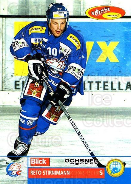 2003-04 Swiss Ice Hockey Cards #72 Reto Stirnimann<br/>2 In Stock - $2.00 each - <a href=https://centericecollectibles.foxycart.com/cart?name=2003-04%20Swiss%20Ice%20Hockey%20Cards%20%2372%20Reto%20Stirnimann...&quantity_max=2&price=$2.00&code=725780 class=foxycart> Buy it now! </a>