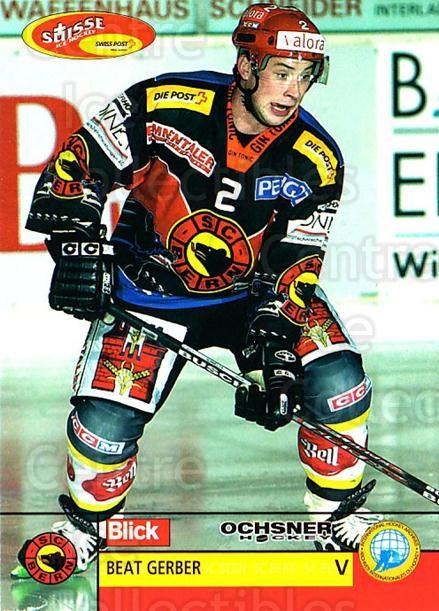 2003-04 Swiss Ice Hockey Cards #81 Beat Gerber<br/>2 In Stock - $2.00 each - <a href=https://centericecollectibles.foxycart.com/cart?name=2003-04%20Swiss%20Ice%20Hockey%20Cards%20%2381%20Beat%20Gerber...&quantity_max=2&price=$2.00&code=725789 class=foxycart> Buy it now! </a>