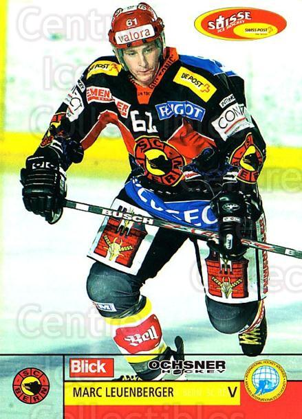 2003-04 Swiss Ice Hockey Cards #83 Marc Leuenberger<br/>1 In Stock - $2.00 each - <a href=https://centericecollectibles.foxycart.com/cart?name=2003-04%20Swiss%20Ice%20Hockey%20Cards%20%2383%20Marc%20Leuenberge...&quantity_max=1&price=$2.00&code=725791 class=foxycart> Buy it now! </a>