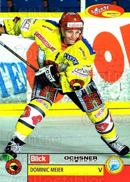 2003-04 Swiss Ice Hockey Cards #84 Dominic Meier<br/>2 In Stock - $2.00 each - <a href=https://centericecollectibles.foxycart.com/cart?name=2003-04%20Swiss%20Ice%20Hockey%20Cards%20%2384%20Dominic%20Meier...&quantity_max=2&price=$2.00&code=725792 class=foxycart> Buy it now! </a>