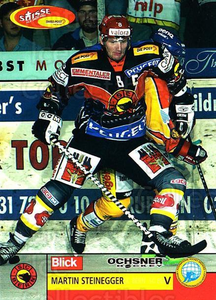 2003-04 Swiss Ice Hockey Cards #85 Martin Steinegger<br/>2 In Stock - $2.00 each - <a href=https://centericecollectibles.foxycart.com/cart?name=2003-04%20Swiss%20Ice%20Hockey%20Cards%20%2385%20Martin%20Steinegg...&quantity_max=2&price=$2.00&code=725793 class=foxycart> Buy it now! </a>