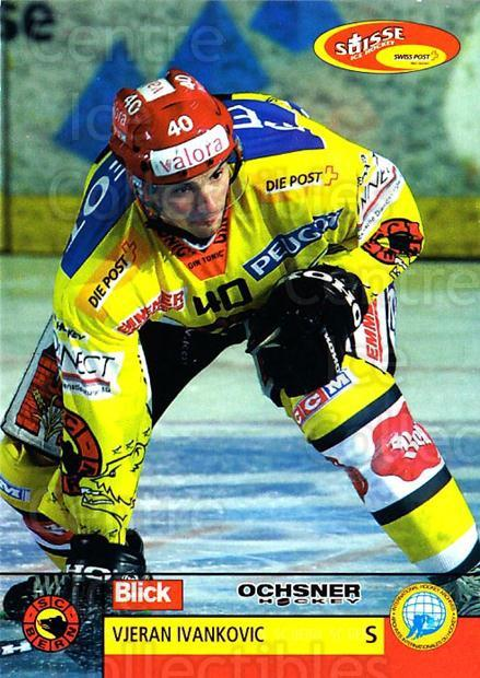 2003-04 Swiss Ice Hockey Cards #90 Vjeran Ivankovic<br/>1 In Stock - $2.00 each - <a href=https://centericecollectibles.foxycart.com/cart?name=2003-04%20Swiss%20Ice%20Hockey%20Cards%20%2390%20Vjeran%20Ivankovi...&quantity_max=1&price=$2.00&code=725798 class=foxycart> Buy it now! </a>