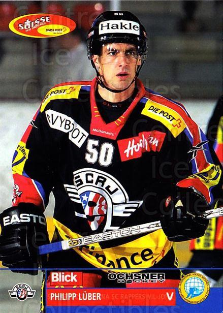 2003-04 Swiss Ice Hockey Cards #108 Philipp Luber<br/>2 In Stock - $2.00 each - <a href=https://centericecollectibles.foxycart.com/cart?name=2003-04%20Swiss%20Ice%20Hockey%20Cards%20%23108%20Philipp%20Luber...&quantity_max=2&price=$2.00&code=725816 class=foxycart> Buy it now! </a>