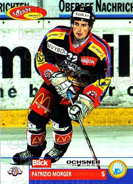 2003-04 Swiss Ice Hockey Cards #115 Patrizio Morger<br/>2 In Stock - $2.00 each - <a href=https://centericecollectibles.foxycart.com/cart?name=2003-04%20Swiss%20Ice%20Hockey%20Cards%20%23115%20Patrizio%20Morger...&quantity_max=2&price=$2.00&code=725823 class=foxycart> Buy it now! </a>