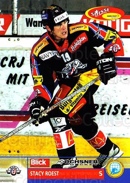 2003-04 Swiss Ice Hockey Cards #120 Stacy Roest<br/>1 In Stock - $2.00 each - <a href=https://centericecollectibles.foxycart.com/cart?name=2003-04%20Swiss%20Ice%20Hockey%20Cards%20%23120%20Stacy%20Roest...&quantity_max=1&price=$2.00&code=725828 class=foxycart> Buy it now! </a>