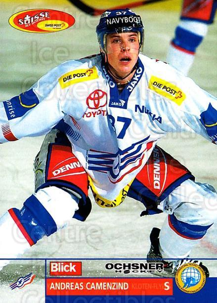 2003-04 Swiss Ice Hockey Cards #157 Andreas Camenzind<br/>2 In Stock - $2.00 each - <a href=https://centericecollectibles.foxycart.com/cart?name=2003-04%20Swiss%20Ice%20Hockey%20Cards%20%23157%20Andreas%20Camenzi...&quantity_max=2&price=$2.00&code=725865 class=foxycart> Buy it now! </a>
