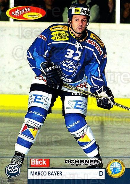 2003-04 Swiss Ice Hockey Cards #170 Marco Bayer<br/>2 In Stock - $2.00 each - <a href=https://centericecollectibles.foxycart.com/cart?name=2003-04%20Swiss%20Ice%20Hockey%20Cards%20%23170%20Marco%20Bayer...&quantity_max=2&price=$2.00&code=725878 class=foxycart> Buy it now! </a>