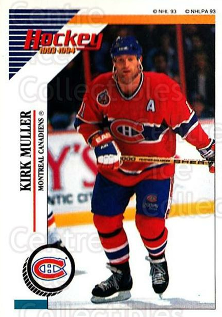 1993-94 Panini Stickers #14 Kirk Muller<br/>6 In Stock - $1.00 each - <a href=https://centericecollectibles.foxycart.com/cart?name=1993-94%20Panini%20Stickers%20%2314%20Kirk%20Muller...&quantity_max=6&price=$1.00&code=7258 class=foxycart> Buy it now! </a>