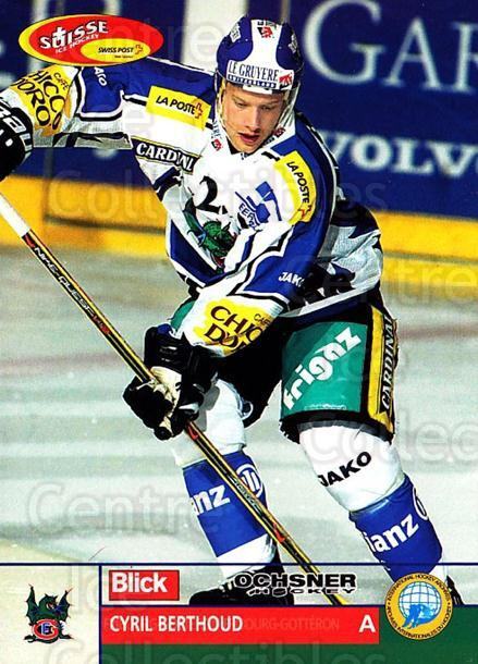 2003-04 Swiss Ice Hockey Cards #199 Cyril Berthoud<br/>2 In Stock - $2.00 each - <a href=https://centericecollectibles.foxycart.com/cart?name=2003-04%20Swiss%20Ice%20Hockey%20Cards%20%23199%20Cyril%20Berthoud...&quantity_max=2&price=$2.00&code=725907 class=foxycart> Buy it now! </a>