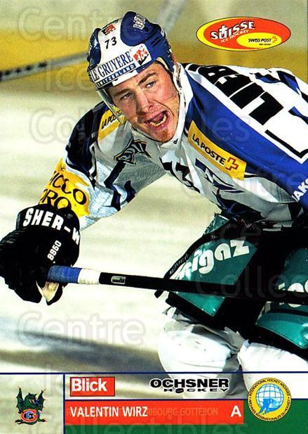 2003-04 Swiss Ice Hockey Cards #210 Valentin Wirz<br/>2 In Stock - $2.00 each - <a href=https://centericecollectibles.foxycart.com/cart?name=2003-04%20Swiss%20Ice%20Hockey%20Cards%20%23210%20Valentin%20Wirz...&quantity_max=2&price=$2.00&code=725918 class=foxycart> Buy it now! </a>