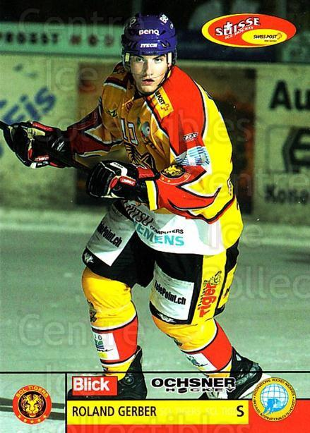 2003-04 Swiss Ice Hockey Cards #244 Roland Gerber<br/>2 In Stock - $2.00 each - <a href=https://centericecollectibles.foxycart.com/cart?name=2003-04%20Swiss%20Ice%20Hockey%20Cards%20%23244%20Roland%20Gerber...&quantity_max=2&price=$2.00&code=725952 class=foxycart> Buy it now! </a>
