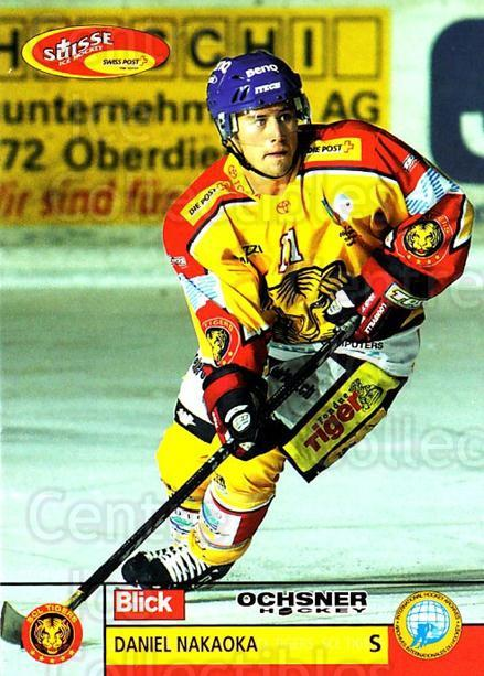 2003-04 Swiss Ice Hockey Cards #250 Daniel Nakaoka<br/>1 In Stock - $2.00 each - <a href=https://centericecollectibles.foxycart.com/cart?name=2003-04%20Swiss%20Ice%20Hockey%20Cards%20%23250%20Daniel%20Nakaoka...&quantity_max=1&price=$2.00&code=725958 class=foxycart> Buy it now! </a>
