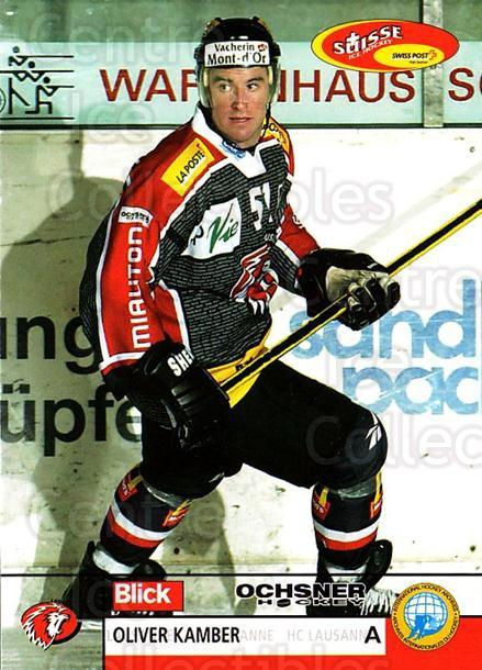 2003-04 Swiss Ice Hockey Cards #269 Oliver Kamber<br/>2 In Stock - $2.00 each - <a href=https://centericecollectibles.foxycart.com/cart?name=2003-04%20Swiss%20Ice%20Hockey%20Cards%20%23269%20Oliver%20Kamber...&quantity_max=2&price=$2.00&code=725977 class=foxycart> Buy it now! </a>