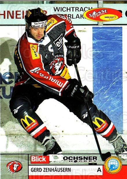 2003-04 Swiss Ice Hockey Cards #276 Gerd Zenhausern<br/>1 In Stock - $2.00 each - <a href=https://centericecollectibles.foxycart.com/cart?name=2003-04%20Swiss%20Ice%20Hockey%20Cards%20%23276%20Gerd%20Zenhausern...&quantity_max=1&price=$2.00&code=725984 class=foxycart> Buy it now! </a>