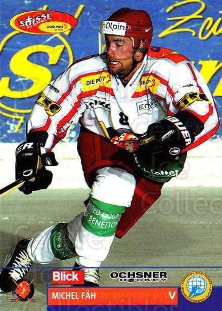 2003-04 Swiss Ice Hockey Cards #302 Michel Fah<br/>2 In Stock - $2.00 each - <a href=https://centericecollectibles.foxycart.com/cart?name=2003-04%20Swiss%20Ice%20Hockey%20Cards%20%23302%20Michel%20Fah...&quantity_max=2&price=$2.00&code=726010 class=foxycart> Buy it now! </a>