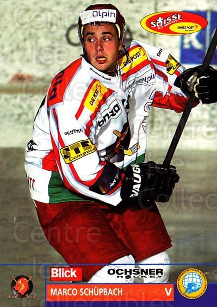 2003-04 Swiss Ice Hockey Cards #306 Marco Schupbach<br/>2 In Stock - $2.00 each - <a href=https://centericecollectibles.foxycart.com/cart?name=2003-04%20Swiss%20Ice%20Hockey%20Cards%20%23306%20Marco%20Schupbach...&quantity_max=2&price=$2.00&code=726014 class=foxycart> Buy it now! </a>