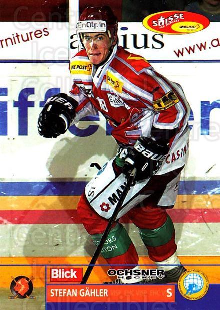 2003-04 Swiss Ice Hockey Cards #312 Stefan Gahler<br/>2 In Stock - $2.00 each - <a href=https://centericecollectibles.foxycart.com/cart?name=2003-04%20Swiss%20Ice%20Hockey%20Cards%20%23312%20Stefan%20Gahler...&quantity_max=2&price=$2.00&code=726020 class=foxycart> Buy it now! </a>