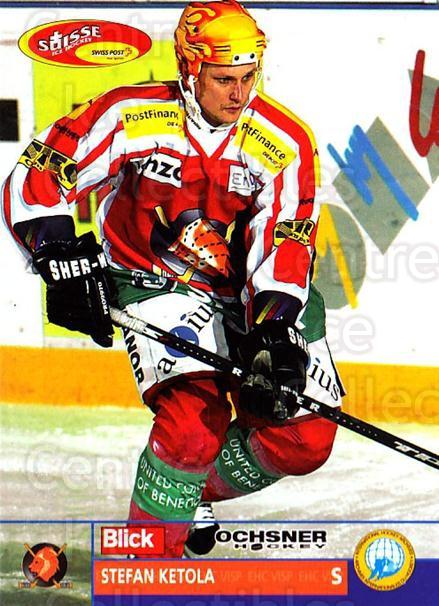 2003-04 Swiss Ice Hockey Cards #313 Stefan Ketola<br/>1 In Stock - $2.00 each - <a href=https://centericecollectibles.foxycart.com/cart?name=2003-04%20Swiss%20Ice%20Hockey%20Cards%20%23313%20Stefan%20Ketola...&quantity_max=1&price=$2.00&code=726021 class=foxycart> Buy it now! </a>