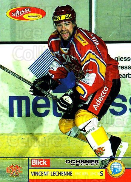 2003-04 Swiss Ice Hockey Cards #331 Vincent Lechenne<br/>1 In Stock - $2.00 each - <a href=https://centericecollectibles.foxycart.com/cart?name=2003-04%20Swiss%20Ice%20Hockey%20Cards%20%23331%20Vincent%20Lechenn...&quantity_max=1&price=$2.00&code=726039 class=foxycart> Buy it now! </a>