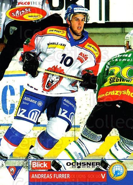 2003-04 Swiss Ice Hockey Cards #341 Andreas Furrer<br/>2 In Stock - $2.00 each - <a href=https://centericecollectibles.foxycart.com/cart?name=2003-04%20Swiss%20Ice%20Hockey%20Cards%20%23341%20Andreas%20Furrer...&quantity_max=2&price=$2.00&code=726049 class=foxycart> Buy it now! </a>