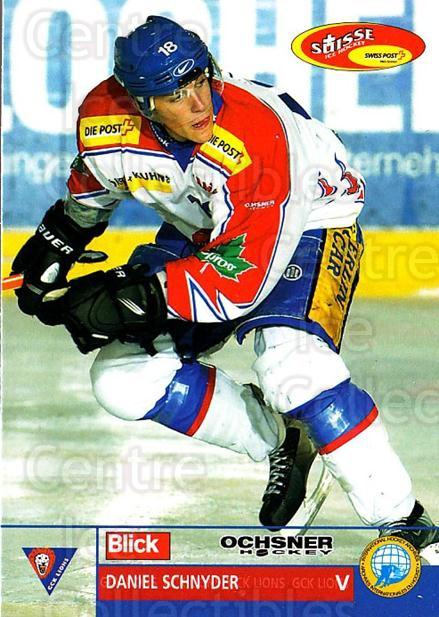 2003-04 Swiss Ice Hockey Cards #346 Daniel Schnyder<br/>2 In Stock - $2.00 each - <a href=https://centericecollectibles.foxycart.com/cart?name=2003-04%20Swiss%20Ice%20Hockey%20Cards%20%23346%20Daniel%20Schnyder...&quantity_max=2&price=$2.00&code=726054 class=foxycart> Buy it now! </a>