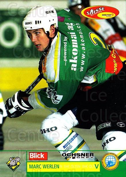 2003-04 Swiss Ice Hockey Cards #382 Marc Werlen<br/>1 In Stock - $2.00 each - <a href=https://centericecollectibles.foxycart.com/cart?name=2003-04%20Swiss%20Ice%20Hockey%20Cards%20%23382%20Marc%20Werlen...&quantity_max=1&price=$2.00&code=726090 class=foxycart> Buy it now! </a>