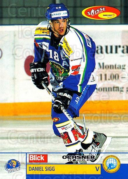 2003-04 Swiss Ice Hockey Cards #403 Daniel Sigg<br/>2 In Stock - $2.00 each - <a href=https://centericecollectibles.foxycart.com/cart?name=2003-04%20Swiss%20Ice%20Hockey%20Cards%20%23403%20Daniel%20Sigg...&quantity_max=2&price=$2.00&code=726111 class=foxycart> Buy it now! </a>