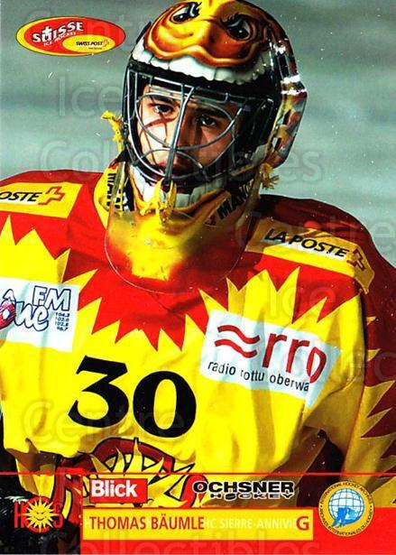 2003-04 Swiss Ice Hockey Cards #414 Thomas Baumle<br/>2 In Stock - $2.00 each - <a href=https://centericecollectibles.foxycart.com/cart?name=2003-04%20Swiss%20Ice%20Hockey%20Cards%20%23414%20Thomas%20Baumle...&quantity_max=2&price=$2.00&code=726122 class=foxycart> Buy it now! </a>