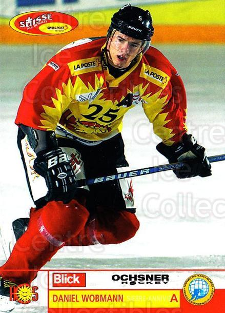 2003-04 Swiss Ice Hockey Cards #431 Daniel Wobmann<br/>2 In Stock - $2.00 each - <a href=https://centericecollectibles.foxycart.com/cart?name=2003-04%20Swiss%20Ice%20Hockey%20Cards%20%23431%20Daniel%20Wobmann...&quantity_max=2&price=$2.00&code=726139 class=foxycart> Buy it now! </a>
