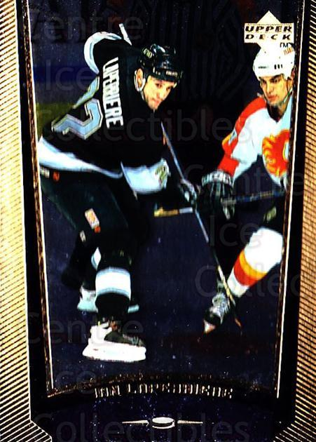 1998-99 Upper Deck Gold Reserve #108 Ian Laperriere<br/>4 In Stock - $1.00 each - <a href=https://centericecollectibles.foxycart.com/cart?name=1998-99%20Upper%20Deck%20Gold%20Reserve%20%23108%20Ian%20Laperriere...&quantity_max=4&price=$1.00&code=72623 class=foxycart> Buy it now! </a>