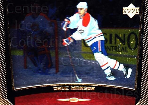 1998-99 Upper Deck Gold Reserve #113 Dave Manson<br/>3 In Stock - $1.00 each - <a href=https://centericecollectibles.foxycart.com/cart?name=1998-99%20Upper%20Deck%20Gold%20Reserve%20%23113%20Dave%20Manson...&quantity_max=3&price=$1.00&code=72628 class=foxycart> Buy it now! </a>