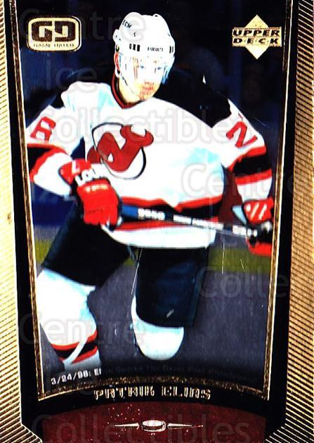 1998-99 Upper Deck Gold Reserve #119 Patrik Elias<br/>3 In Stock - $1.00 each - <a href=https://centericecollectibles.foxycart.com/cart?name=1998-99%20Upper%20Deck%20Gold%20Reserve%20%23119%20Patrik%20Elias...&quantity_max=3&price=$1.00&code=72633 class=foxycart> Buy it now! </a>