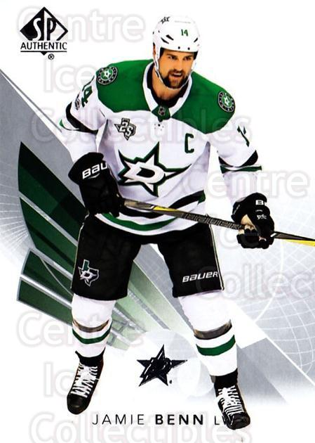2017-18 SP Authentic #4 Jamie Benn<br/>5 In Stock - $1.00 each - <a href=https://centericecollectibles.foxycart.com/cart?name=2017-18%20SP%20Authentic%20%234%20Jamie%20Benn...&quantity_max=5&price=$1.00&code=726344 class=foxycart> Buy it now! </a>