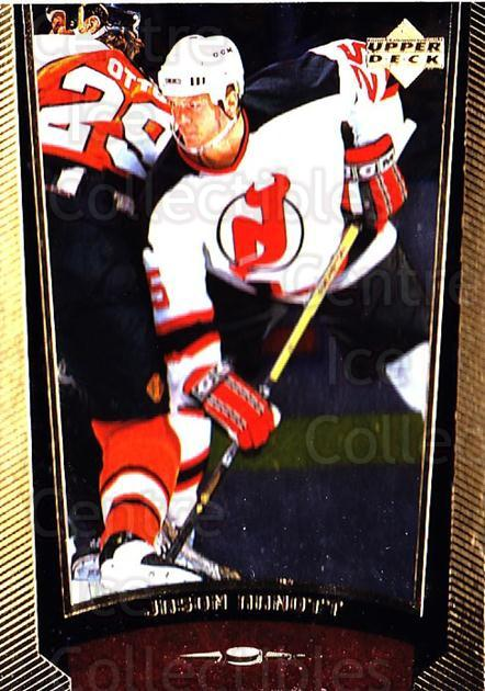 1998-99 Upper Deck Gold Reserve #120 Jason Arnott<br/>4 In Stock - $1.00 each - <a href=https://centericecollectibles.foxycart.com/cart?name=1998-99%20Upper%20Deck%20Gold%20Reserve%20%23120%20Jason%20Arnott...&quantity_max=4&price=$1.00&code=72635 class=foxycart> Buy it now! </a>