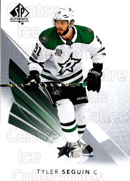 2017-18 SP Authentic #40 Tyler Seguin<br/>6 In Stock - $1.00 each - <a href=https://centericecollectibles.foxycart.com/cart?name=2017-18%20SP%20Authentic%20%2340%20Tyler%20Seguin...&quantity_max=6&price=$1.00&code=726380 class=foxycart> Buy it now! </a>