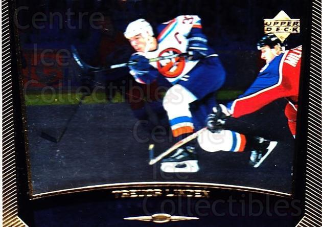 1998-99 Upper Deck Gold Reserve #124 Trevor Linden<br/>4 In Stock - $1.00 each - <a href=https://centericecollectibles.foxycart.com/cart?name=1998-99%20Upper%20Deck%20Gold%20Reserve%20%23124%20Trevor%20Linden...&quantity_max=4&price=$1.00&code=72638 class=foxycart> Buy it now! </a>