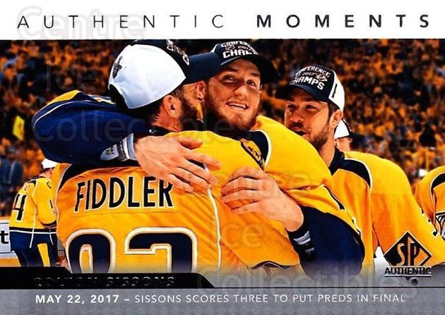 2017-18 SP Authentic #107 Colton Sissons, Vern Fiddler<br/>1 In Stock - $2.00 each - <a href=https://centericecollectibles.foxycart.com/cart?name=2017-18%20SP%20Authentic%20%23107%20Colton%20Sissons,...&quantity_max=1&price=$2.00&code=726447 class=foxycart> Buy it now! </a>