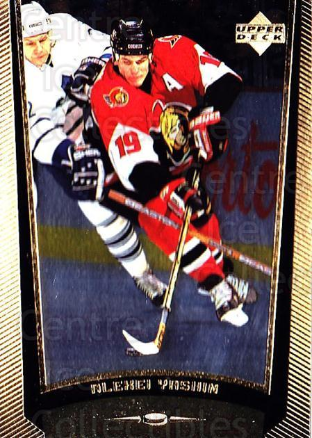 1998-99 Upper Deck Gold Reserve #139 Alexei Yashin<br/>4 In Stock - $1.00 each - <a href=https://centericecollectibles.foxycart.com/cart?name=1998-99%20Upper%20Deck%20Gold%20Reserve%20%23139%20Alexei%20Yashin...&quantity_max=4&price=$1.00&code=72653 class=foxycart> Buy it now! </a>