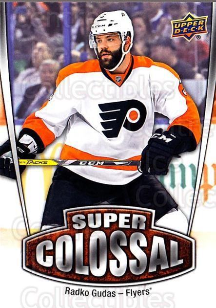 2016-17 Upper Deck Super Colossal #16 Radko Gudas<br/>1 In Stock - $3.00 each - <a href=https://centericecollectibles.foxycart.com/cart?name=2016-17%20Upper%20Deck%20Super%20Colossal%20%2316%20Radko%20Gudas...&quantity_max=1&price=$3.00&code=726705 class=foxycart> Buy it now! </a>