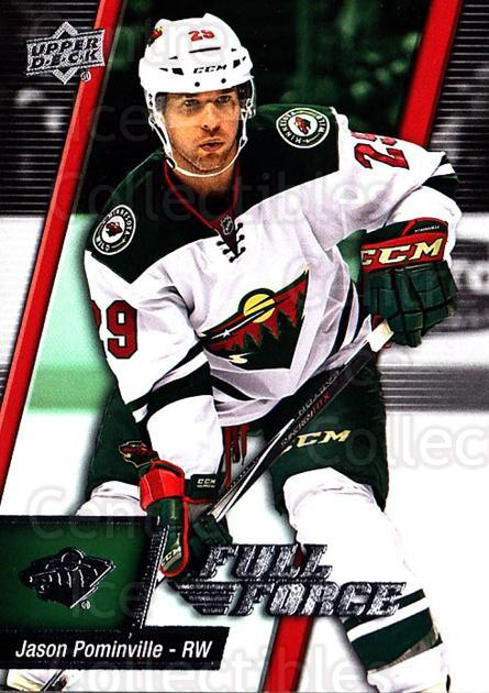 2015-16 Upper Deck Full Force #12 Jason Pominville<br/>2 In Stock - $1.00 each - <a href=https://centericecollectibles.foxycart.com/cart?name=2015-16%20Upper%20Deck%20Full%20Force%20%2312%20Jason%20Pominvill...&quantity_max=2&price=$1.00&code=726751 class=foxycart> Buy it now! </a>